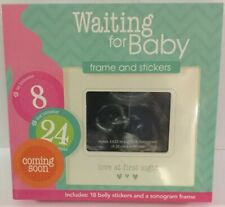 Love At First Sight Sonogram Frame And stickers, Unopened/New