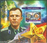 MALDIVES 2015 SPACE PIONEERS YURI  GAGARIN  SOUVENIR SHEET MINT  NH