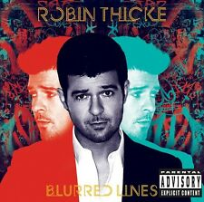 ROBIN THICKE BLURRED RED LINES CD NUOVO SIGILLATO !!