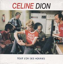 CD CARTONNE CARDSLEEVE CELINE DION 3T TOUT L'OR ...(GOLDMAN) NEUF SCELLE