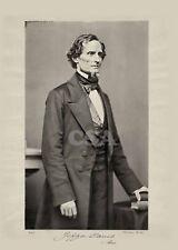 Senator Jefferson Davis of Mississippi • Signed with casket flag