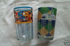 "2013,2012  Kentucky Derby 139-138 Official Glasses "" READY TO SHIP"""