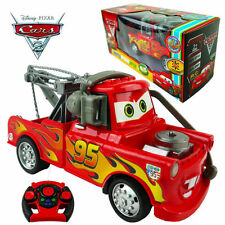 DISNEY Pixar Lightning Mcqueen 19 cm ELECTRIC RC Radio Remote Control CAR KID TOY