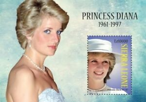 Sierra Leone - Princess Diana Stamp - Souvenir Sheet MNH