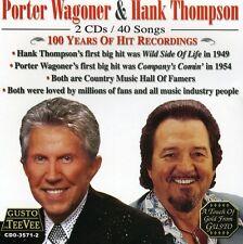 Porter Wagoner - 100 Years of Hit Recordings [New CD]