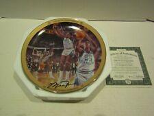 BRADFORD EXCHANGE BASKETBALL PLATE MICHAEL JORDAN UPPER DECK 1982 NCAA CHAMP