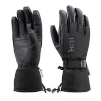Mens Womens Waterproof Winter Ski Snowboard  PU Leather Thinsulate Gloves -30°F