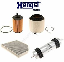 NEW Audi Q5 2014-2015 V6 3.0L Diesel Turbocharged Filters Tune Up Kit Hengst