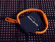 Pulsera De Cremallera Zip-Naranja (tipo 2)