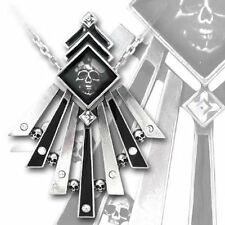 Alchemy Gothic Demimondaines Pewter Necklace BRAND NEW