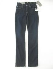 7 For All Mankind Kimmie Straight Leg Jeans in Desert Nite 24 $189 9445 BM12