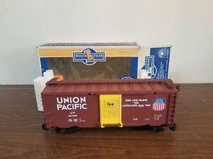 Lionel Large Scale 8-87016 Union Pacific Box Car G Scale Train