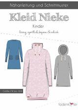 "Schnittmuster Kleid von Fadenkäfer ""  Nieke Kinder "" Gr. 74 -164  Nr. 02"