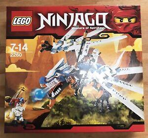 Lego Ninjago Ice Dragon Attack (2260) *Brand New*