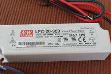 Mean Well Netzteil 48V Typ LPC-20-350 Konstantstromquelle 350 mA NEU in OV