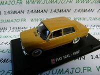 AP6N Voiture 1/43 IXO AUTO PLUS : FIAT 124 L 1967