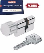 ABUS EC660 Türzylinder Knaufzylinder Länge 45/45k Mm SKG