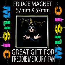 FREDDIE MERCURY- FRIDGE MAGNET57 X 57mm SQUARE  #2