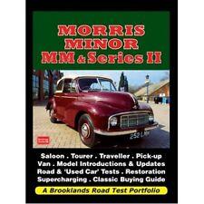 Morris Minor MM & Series II Road Test Portfolio book paper