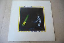"""FABIO MINI""""E BE NEAR ME-disco 33 giri PANARECORD 1987"""" NUOVO"""