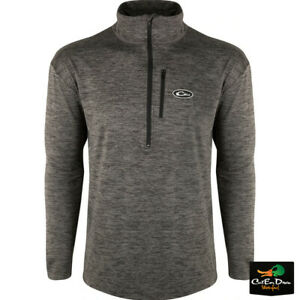 DRAKE WATERFOWL BASELAYER CHARCOAL HEATHER