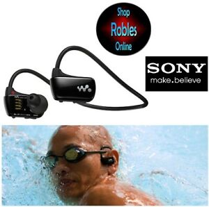 SONY NWZ-W273 4GB Waterproof Walkman Sports Swimming MP3 Player BLACK Top