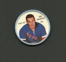 Earl Ingarfield #82 New York Rangers Vintage 1961-62 Shirriff Salada Hockey Coin