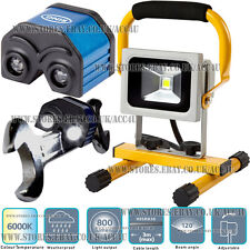 Ring RWL10 Car Garage Workshop Portable 10w COB LED Work Lamp Flood Light + Free