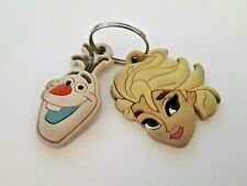 VINTAGE LOT OF 2 DISNEY RUBBER KEYCHAIN