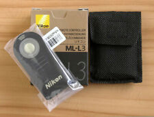 ML-L3 commande à distance pour Nikon D750 D610 D7500 D7200 D7100 D5500 D3400 D3300