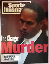 Sports Illustrated June 27, 1994 The Charge Murder OJ Simpson FREE SHIPPING