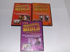 AWESOME BIBLE ADVENTURES: 6 Full Length Episodes Christian DVD Christian