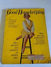 GOOD HOUSEKEEPING Magazine October 1965 Doris Day Mid Century Decor & Fashion