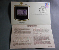 1997 First Day Issue New York NY Joseph Pulitzer 3 Cent USPS