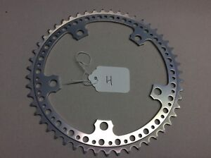 NOS 51T 144 BCD DRILLED CHAINRING FIT CAMPAGNOLO ROAD RACING BIKE (H) Silver