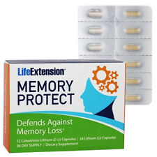 Memory Protect 36 Caps - Defends Against Memory Loss* - Life Extension Colostrin
