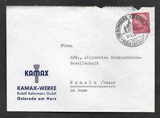 Umschlag-BRD-von Homberg nach Hameln-Kamax Werke-24.5.58-