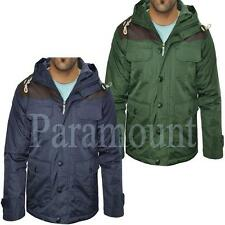Brave Soul Zip Hip Length Polyester Coats & Jackets for Men