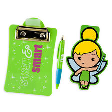 Tinker Bell MXYZ Clipboard and Notepad Set - Disney Deluxe Collection - New