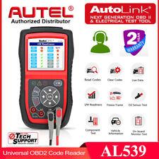 Autel AL539 OBD II OBD2 Code Reader Engine Universal Car Diagnostic Scanner Tool