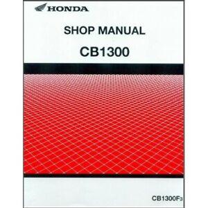 Honda CB1300 Service Workshop Repair Shop Manual CB 1300 PDF
