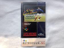 Eric Cantona - Manual FAH - Super Nintendo SNES PAL