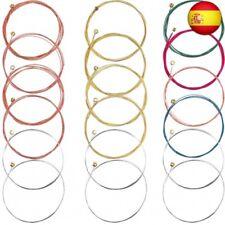 3 Juegos de Cuerdas de Guitarra Acústica Reemplazo de Cuerda de Acero para