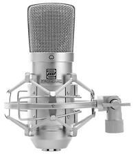 Klasse Kondensator Großmembranmikrofon für professionelle Recordings silber