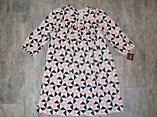TEA COLLECTION Imogen Henley Dress geometric 8 NEW! NWT