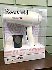 Babyliss Pro Nano Titanium Professional Ionic Dryer - Rose Gold Special Edition