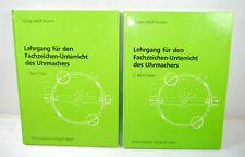 Course for the Fachzeichen-Unterricht Des Uhrmachers Volume 1+2 Rühle (B2)