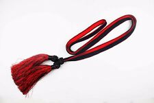 WWII Japanese  Officer's Sword Black & Red Tassel for Samurai Sword Gunto Katana