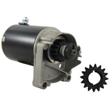 New Starter Briggs And Stratton W/extra Gear 14,16,18 HP 497596 V Twin 5743-G