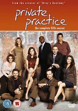 DVD:PRIVATE PRACTICE - SEASON 5 - NEW Region 2 UK